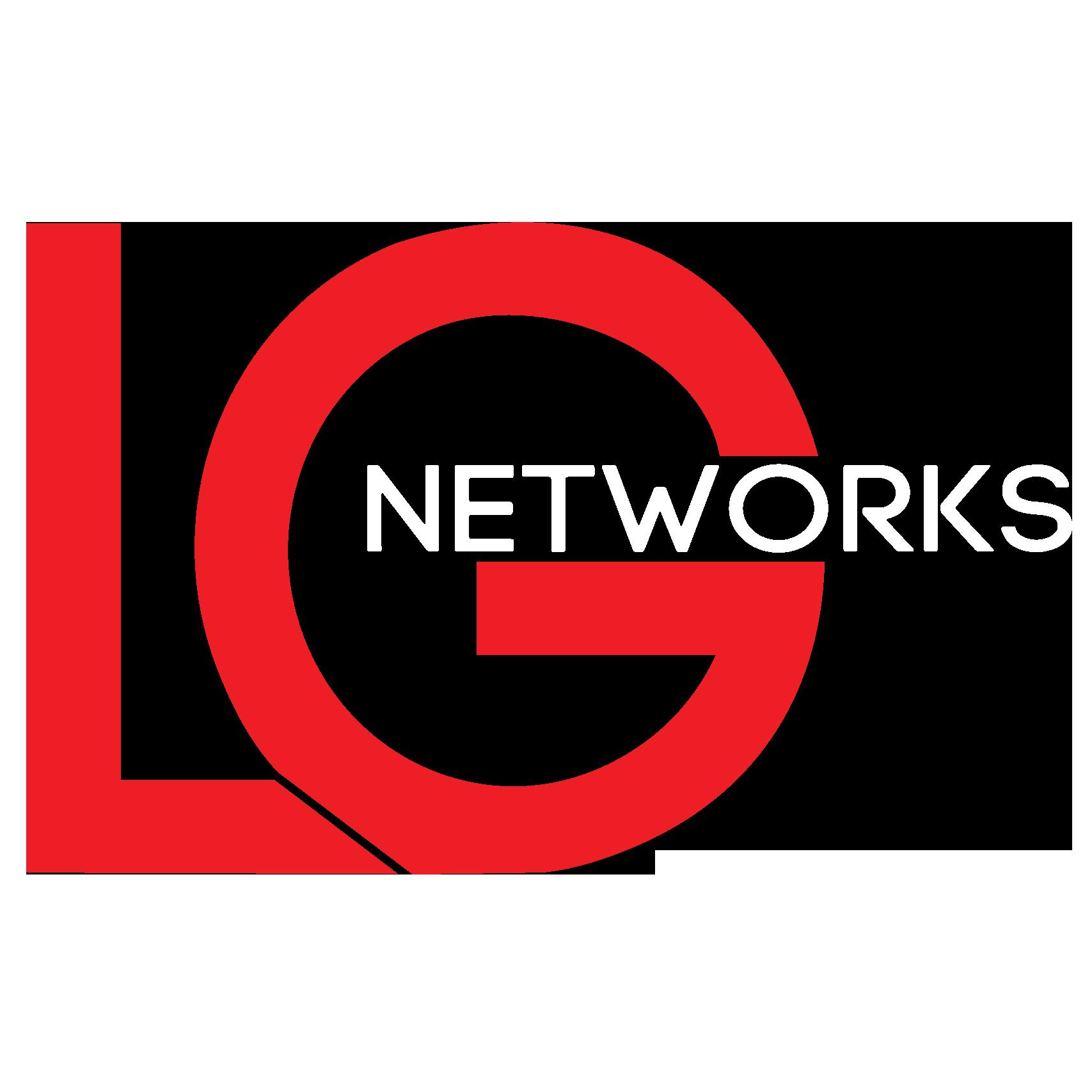 LG Networks Logo White